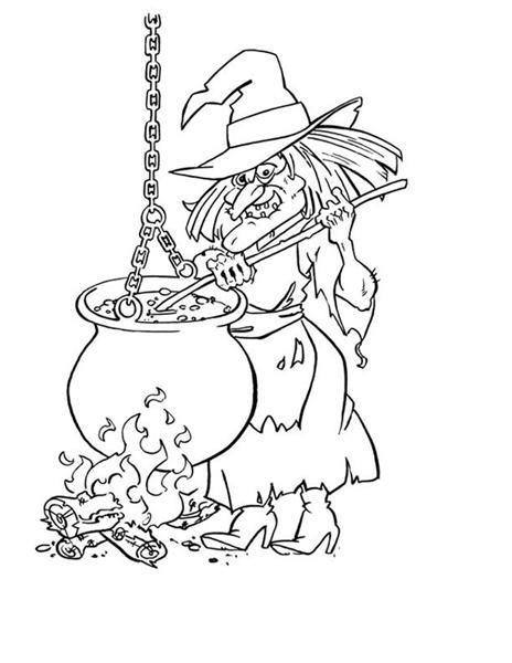 Halloween Printable Coloring Pages 6