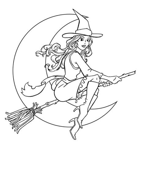 Halloween Coloring Pages 10