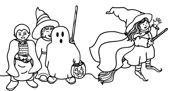 Halloween Coloring Pages 12