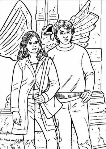Harry Potter Coloring Pages 8