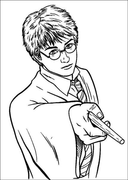 Harry Potter Coloring Pages 9
