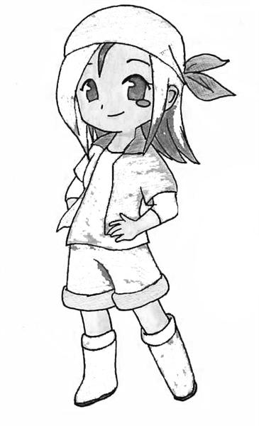 Harvest Moon Coloring Pages 8