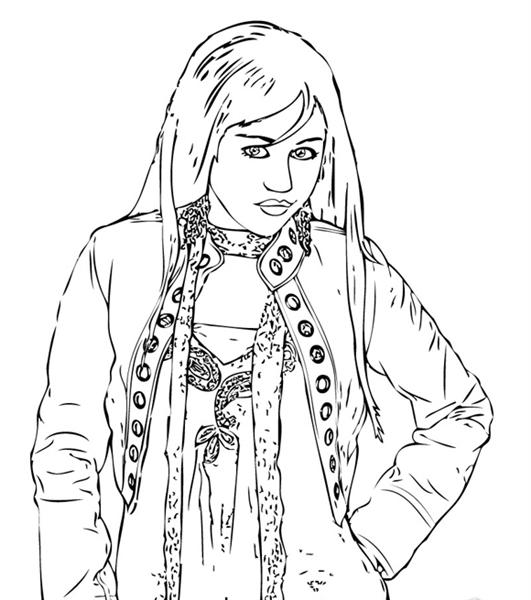High School Musical 1 Coloring Pages 5
