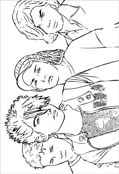 High School Musical 1 Coloring Pages 9