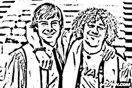 High School Musical Senior Year Coloring Pages 2