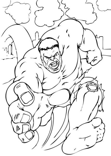 Hulk Coloring Pages 11