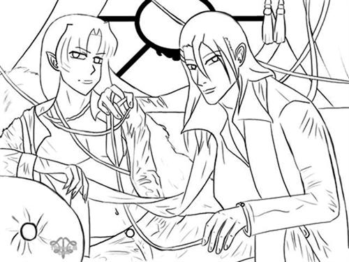 Inuyasha The Final Act Coloring Pages 2