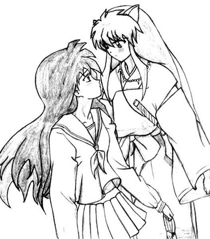 Inuyasha The Final Act Coloring Pages 6