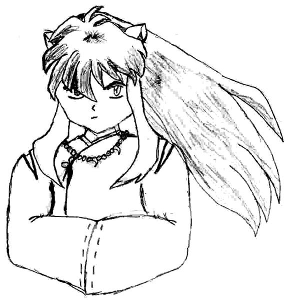 Inuyasha The Final Act Coloring Pages 8