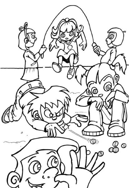 Kid Coloring Pages 3