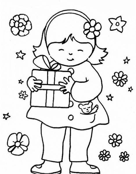 Kid Coloring Pages 7