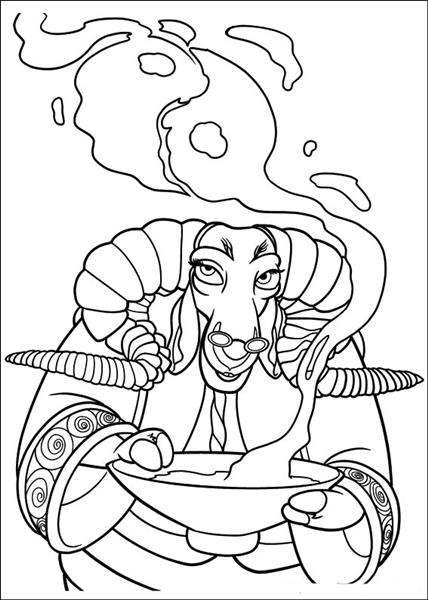 Kung Fu Panda 2 Coloring Pages 3