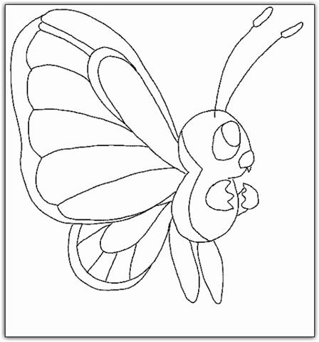 Coloring Butterfly 9