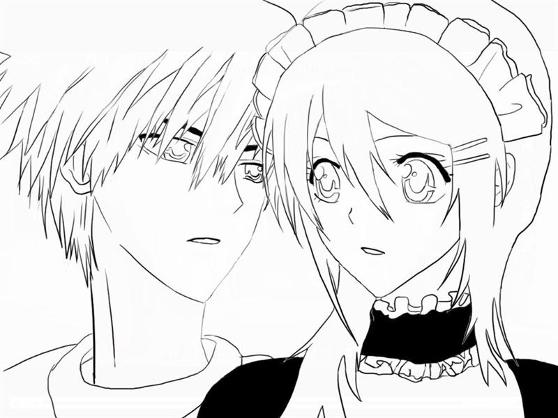 Maid Sama Coloring Pages 7