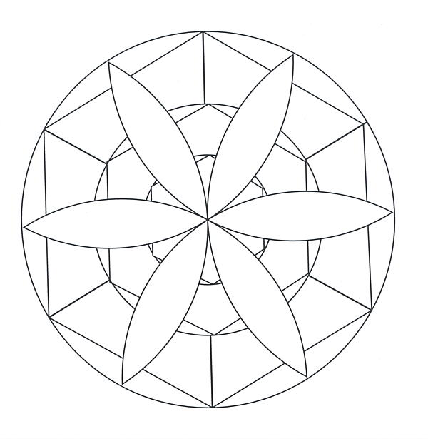 Mandala Coloring Pages 1