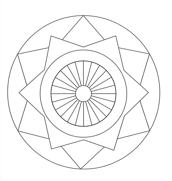 Mandala Coloring Pages 2