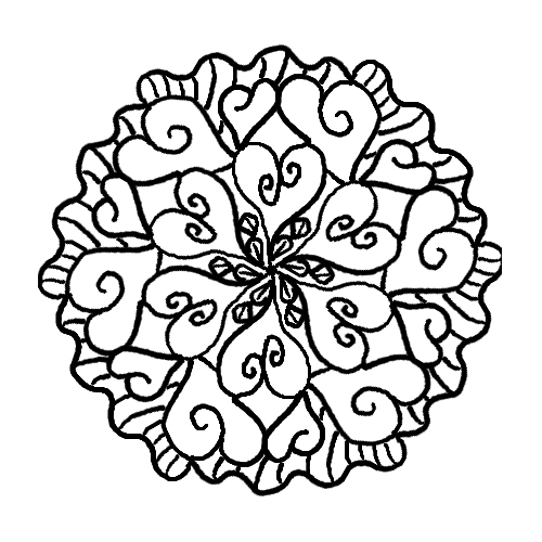 Free Mandala Coloring Pages 6