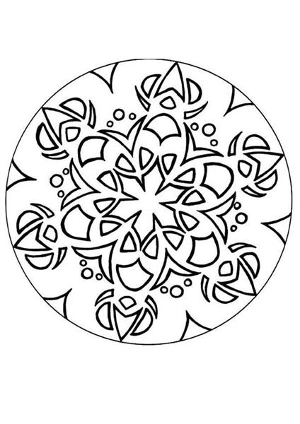 Free Mandala Coloring Pages 8