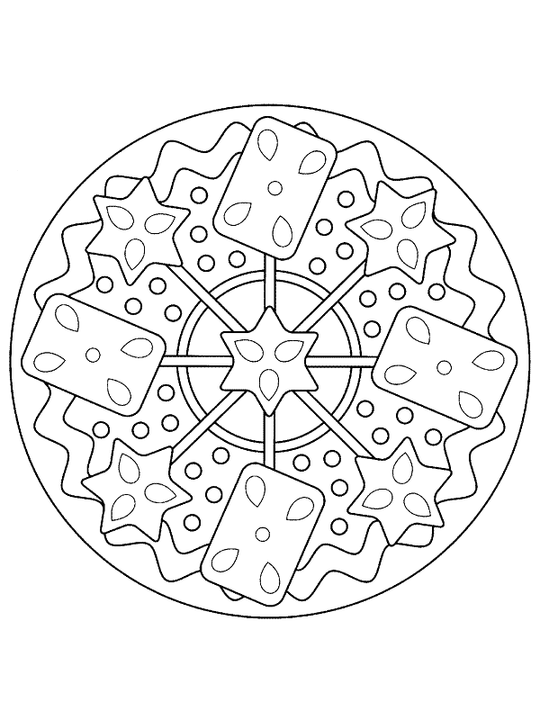 Free Mandala Coloring Pages 9