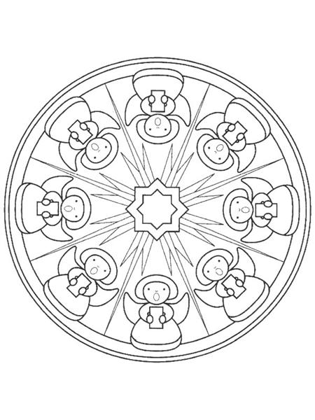 Free Mandala Coloring Pages 10