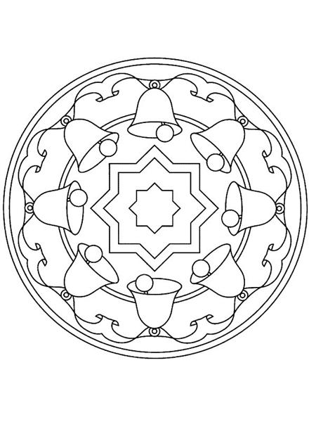 Free Mandala Coloring Pages 11