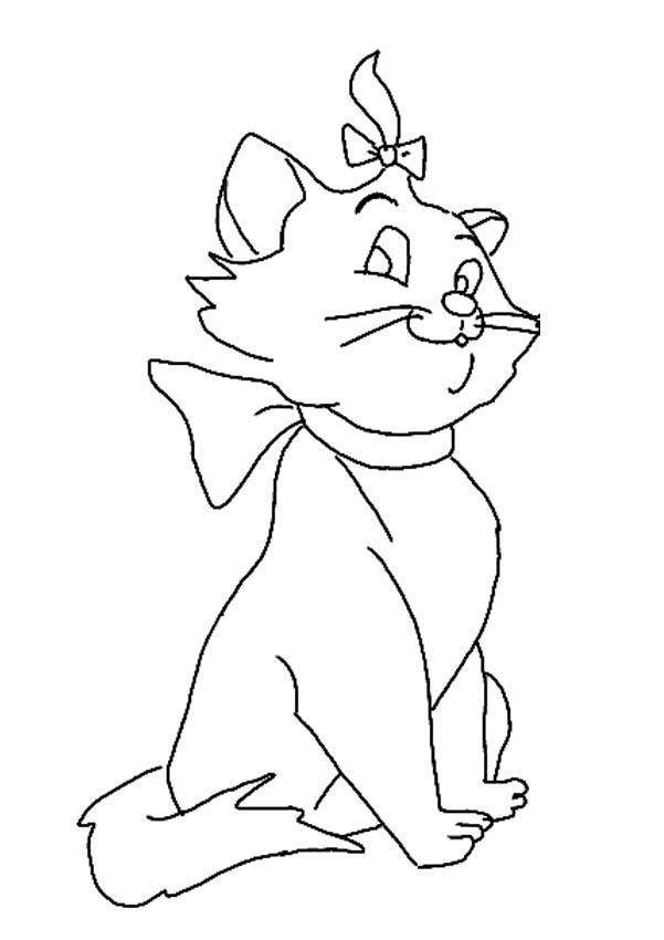 Marie Coloring Pages 4