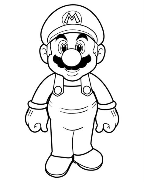 Mario Coloring Pages 4
