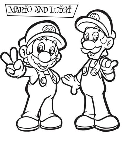 Mario Coloring Pages 10
