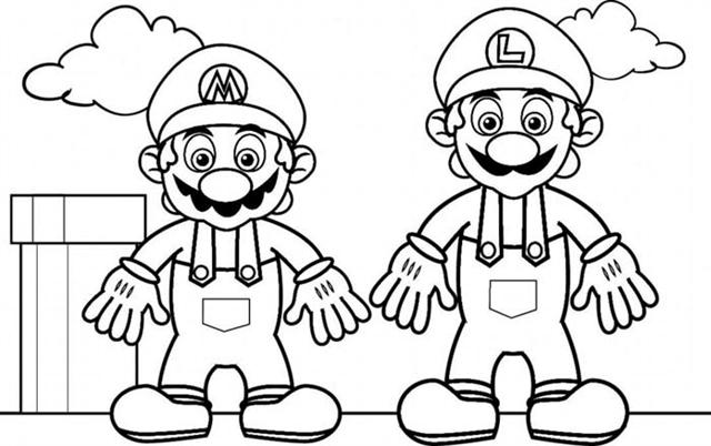 Mario Coloring Pages 11