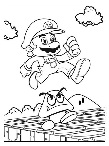 Mario Coloring Pages 9