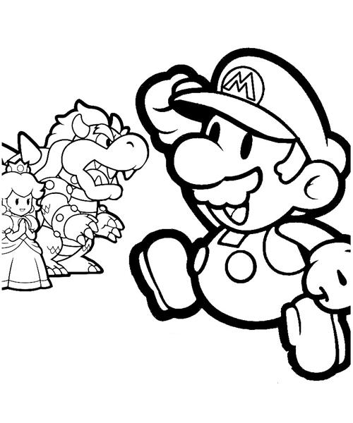 Mario Coloring Pages 12
