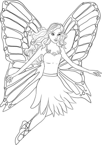 Mariposa Coloring Pages 3