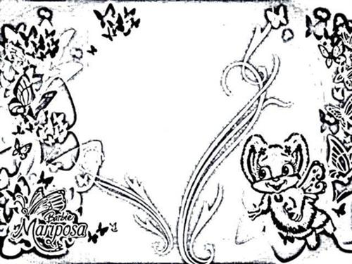 Mariposa Coloring Pages 6