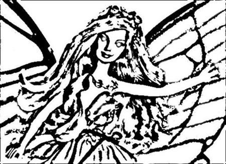 Mariposa Coloring Pages 9