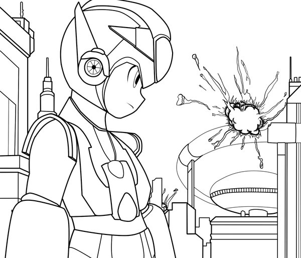 Megaman ZX Coloring Pages 3