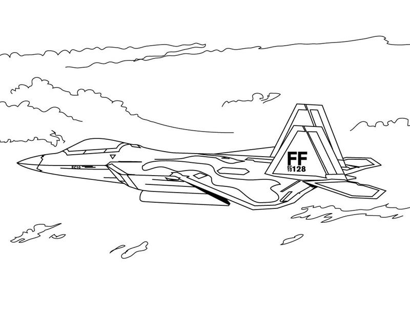 Military Coloring Pages 6