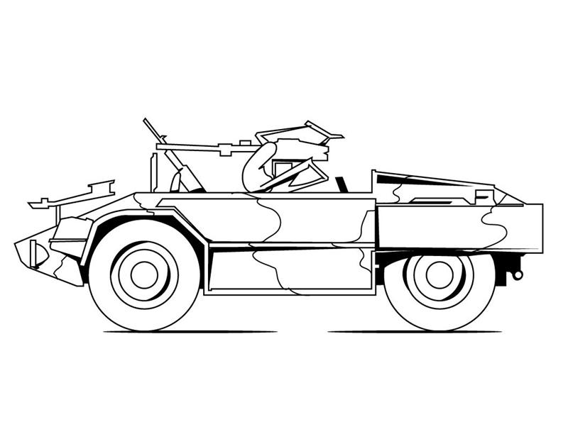Military Coloring Pages 7