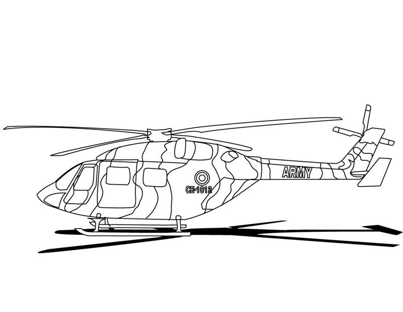 Military Coloring Pages 8