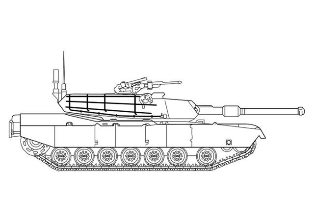 Military Coloring Pages 12
