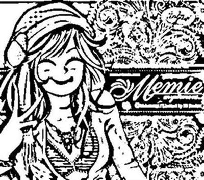 Minmie Coloring Pages 8