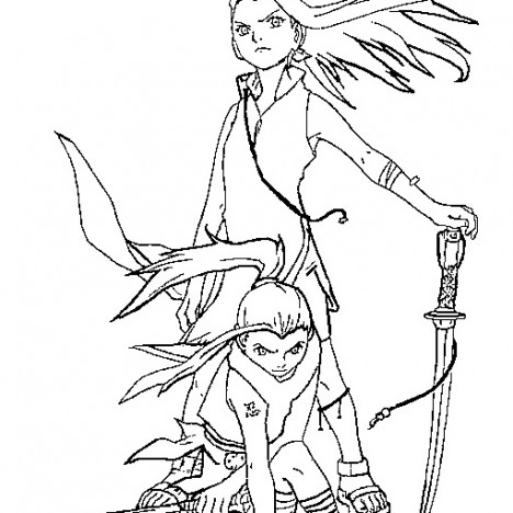 Naruto Coloring Pages 1