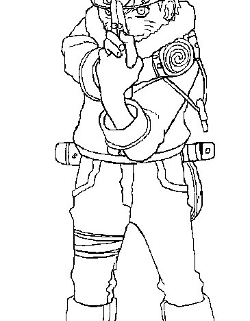 Naruto Coloring Pages 2