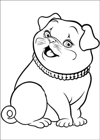 Barbie Thumbelina Coloring Pages 25