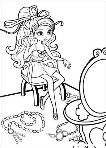 Barbie Thumbelina Coloring Pages 27