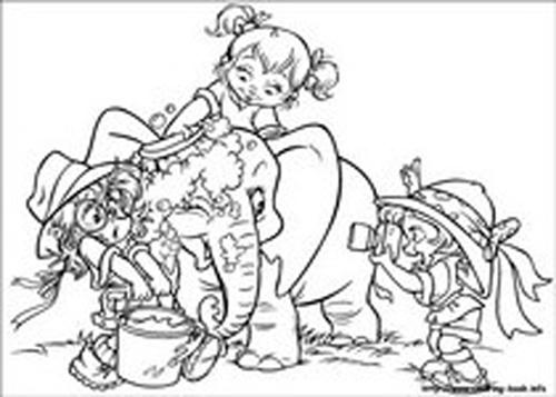 Alvin and the Chipmunks Coloring Pages 6