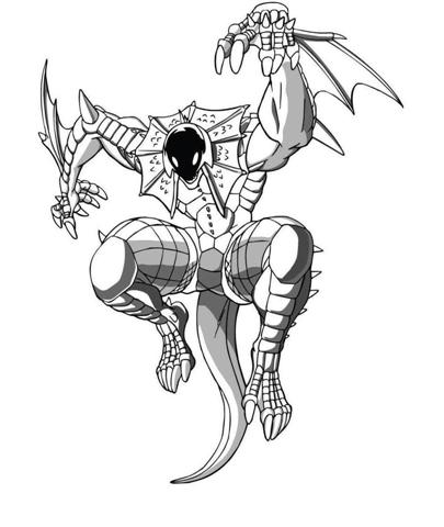 Bakugan Coloring Pages 13