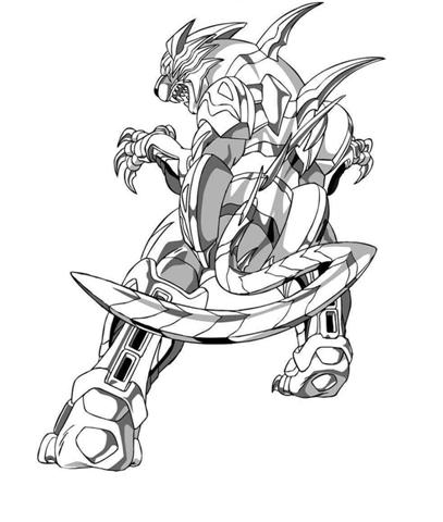 Bakugan Coloring Pages 14