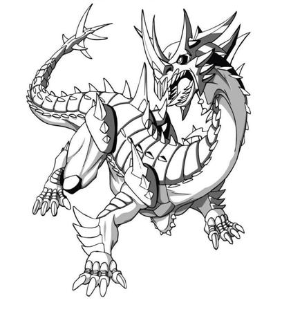 Bakugan Coloring Pages 15