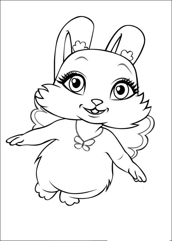 Barbie Mariposa Coloring Pages 3