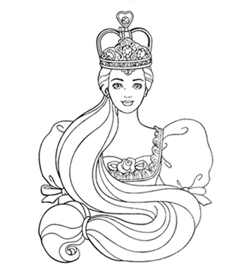 Barbie and The Diamond Castle Coloring Pages 16